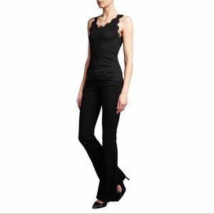 Paige Skyline Bootcut Jeans Black